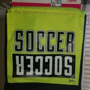NWT Justice Soccer BackPack